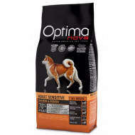 OPTIMAnova Dog Adult Sensitive Salmon & Potato GF 12kg