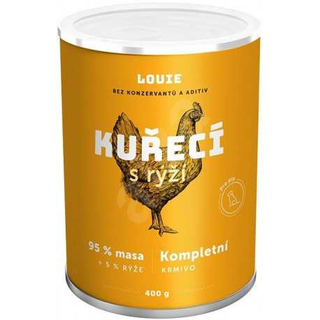 Louie Complete feed - chicken (95%) with rice (5%) 400 g