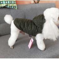 Green fabric jacket