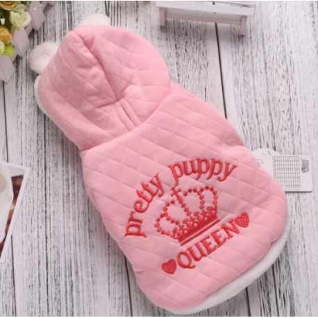 Fabric pink jacket