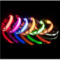 LED collar for dogs with USB