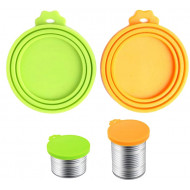 Silicone lid for cans 3in1