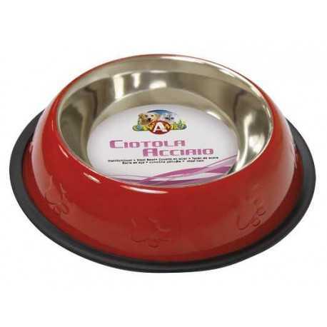 C6059706 Non-slip stainless steel bowl.