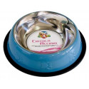 C6059456 Non-slip stainless steel bowl.