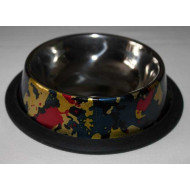 Non-slip stainless steel bowl DECOR