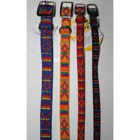 Nylon collar color