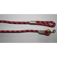 Nylon leash with pattern 2x120cm