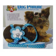 Flowers nylon harness with guidance 1x20-29cm